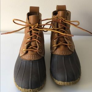 """6"""" Women's Bean Boots in great condition"""